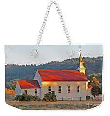 St. Mary's Church At Sunset Weekender Tote Bag