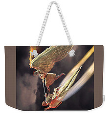 Saint Michael The Archangel Weekender Tote Bag