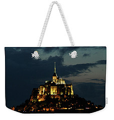 Saint Michel Mount After The Sunset, France Weekender Tote Bag by Yoel Koskas