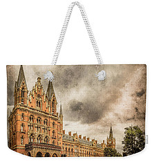 London, England - Saint Pancras Station Weekender Tote Bag