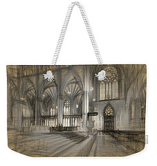 Saint Patrick's Cathedral In New York City Weekender Tote Bag