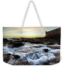 Weekender Tote Bag featuring the photograph Saint Sebastian Castle Cadiz Spain by Pablo Avanzini