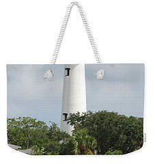 Saint Simons Island Light Weekender Tote Bag