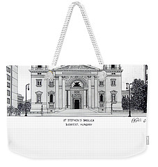 Saint Stephens Basilica Weekender Tote Bag by Frederic Kohli