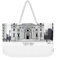 Saint Stephens Basilica Weekender Tote Bag
