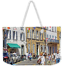 Saint Tropez Moment Weekender Tote Bag