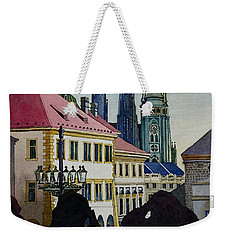 Saint Vitus Cathedral Weekender Tote Bag