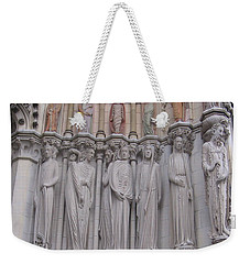 Saints At St. John The Divine Weekender Tote Bag