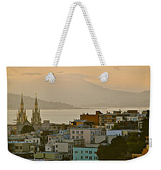 Saints Peter And Paul Spires Weekender Tote Bag by Eric Tressler