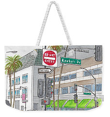 Saks Fth Avenue In Wilshire Bvd., Beverly Hills, California Weekender Tote Bag