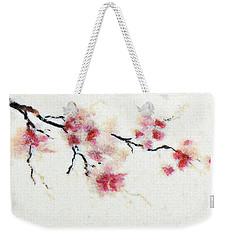 Sakura Branch Weekender Tote Bag