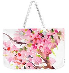 Sakura Cherry Blossom Weekender Tote Bag