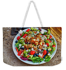 Weekender Tote Bag featuring the photograph Salad by Hugh Smith
