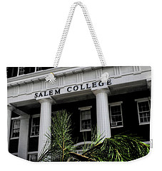 Weekender Tote Bag featuring the photograph Salem College by Jessica Brawley