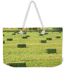 Salem Hay Field Weekender Tote Bag
