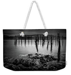 Salen Pier, Isle Of Mull Weekender Tote Bag