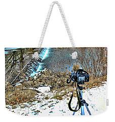 Saline River Winter Landscape Weekender Tote Bag