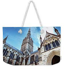 Salisbury Cathedral Weekender Tote Bag