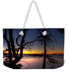 Salish Sunrise Weekender Tote Bag