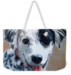 Weekender Tote Bag featuring the painting Sally by Diane Daigle