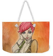 Sally Weekender Tote Bag