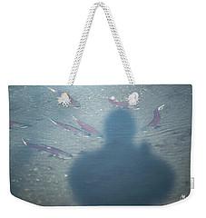Salmon Head Weekender Tote Bag