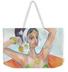 Salome Weekender Tote Bag by Loretta Nash