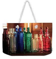 Saloon Bottles Weekender Tote Bag
