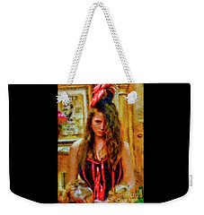 Saloon Girl Weekender Tote Bag