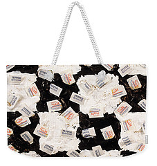 Salt And Pepper Weekender Tote Bag by Thomas Blood