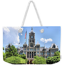 Salt Lake City County Building Weekender Tote Bag