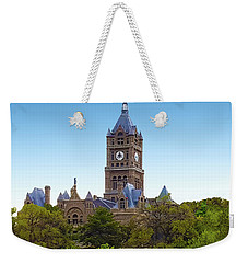 Salt Lake City Hall Weekender Tote Bag