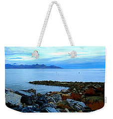 Salt Lake Shore Weekender Tote Bag
