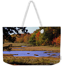 Salt Marsh River Weekender Tote Bag