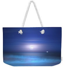 Weekender Tote Bag featuring the photograph Salt Moon by Mark Andrew Thomas