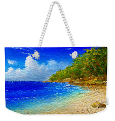 Salt Water Beach Weekender Tote Bag