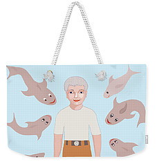 Salt Water Friends Weekender Tote Bag