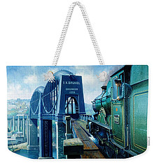Saltash Bridge. Weekender Tote Bag