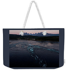 Saltstraumen, Magic Power Stream Weekender Tote Bag