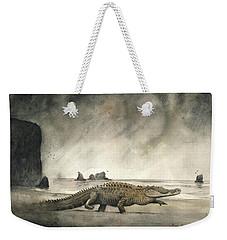 Saltwater Crocodile Weekender Tote Bag