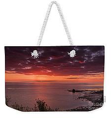 Saltwick Bay Weekender Tote Bag by David  Hollingworth