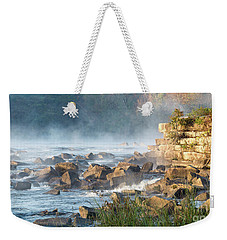 Saluda River At Daybreak Weekender Tote Bag