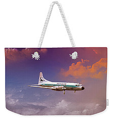 Salute To Herman Weekender Tote Bag by J Griff Griffin