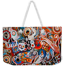 Salvador And The Giant Koi Weekender Tote Bag