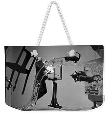 Salvador Dali 1904-1989 Weekender Tote Bag by Granger