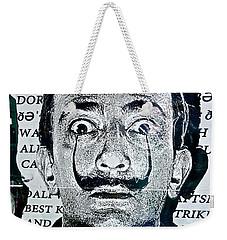 Salvador Dali Weekender Tote Bag by Joan Reese