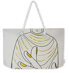 Salvation Weekender Tote Bag by Kruti Shah