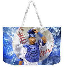 Salvy The Mvp Weekender Tote Bag