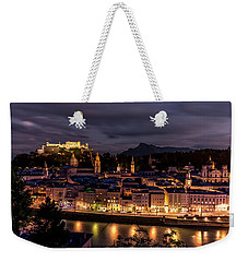 Weekender Tote Bag featuring the photograph Salzburg Austria by David Morefield