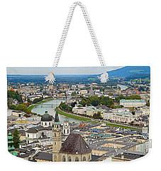Salzburg From Hohensalzburg Castle Weekender Tote Bag